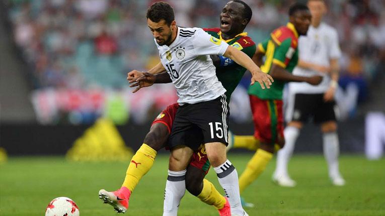 Германците од првото место во полуфинале, Чиле втор
