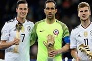 Дракслер најдобар фудбалер, Браво голман број еден
