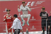 Розберг се врати со победа во Баку