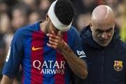 Рафиња го скрши носот по судирот со Тер Штеген