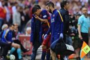 Суарес ја заврши сезоната со повреда