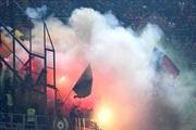 Навивачите на Албанија го прекинаа натпреварот во Палермо