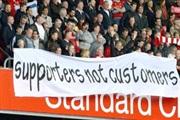 Протест на навивачите од Премиер лига